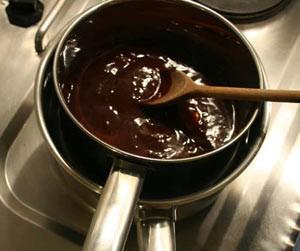 Bagno maria per fondere il cioccolato