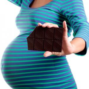 Il cioccolato in gravidanza