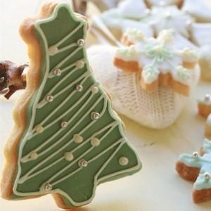 Biscotti allo zenzero natalizi