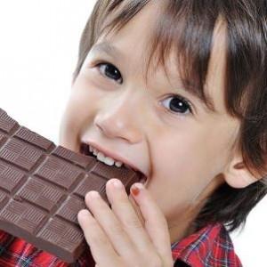 Cioccolato e caffeina quanto darne ai bambini