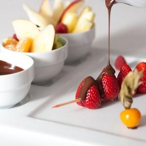 Fondue di cioccolata prepararla senza attrezzatura