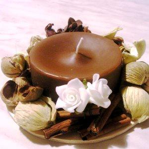 Come preparare candele al cioccolato