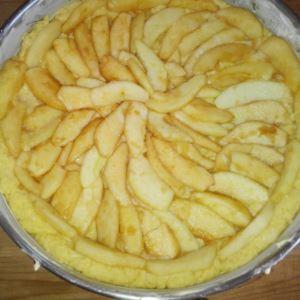 Torta di mele a modo mio. La foto ricetta