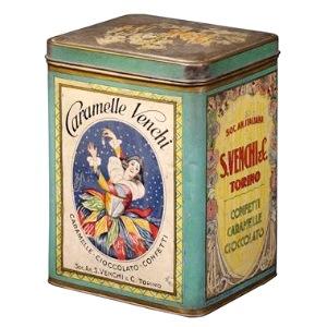 Cioccolata Art Deco, scatola Venchi