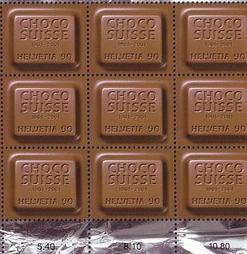 francobolli cioccolato