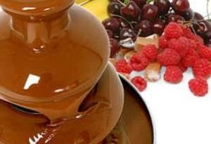 Fontana di cioccolato come funziona e come si usa