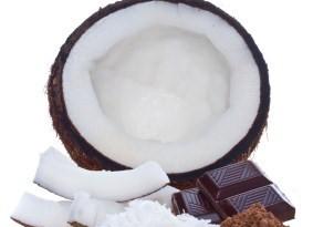 idee per abbinare cocco e cioccolato