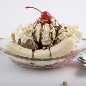 ricetta banana split