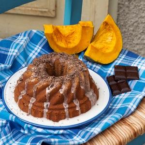 Zucca e cioccolato per un dolce d'autunno