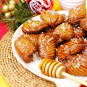 Dolci Natalizi Calabresi.Turdilli Calabresi I Dolci Fritti Di Natale
