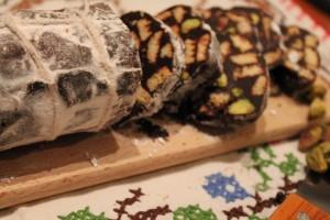 Salame di cioccolato senza burro: ricetta