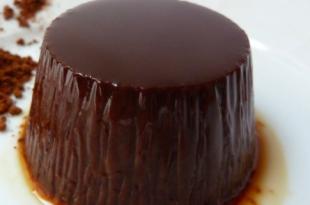 flan cioccolato