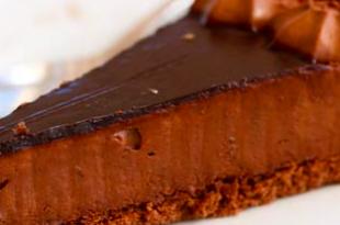 cioccolato cheesecake
