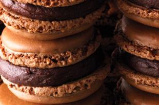 macarons cioccolato