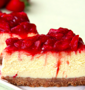 cheesecake fragola