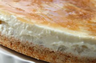 cheesecake ricotta pera