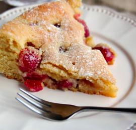 ciliegie torta