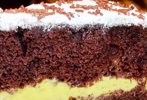 torta crema cioccolata