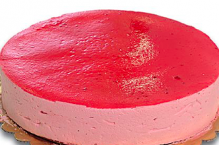 torta mousse fragole