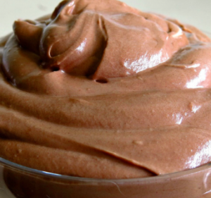 mousse nutella
