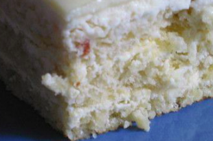 pan di spagna ciococlato bianco