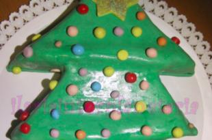 torta albero natale