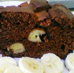 torta banana cacao