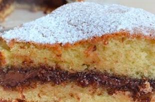 torta morbida nutella