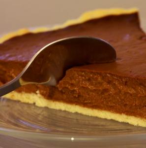 torta cioccolato fondente e panna