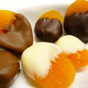 albicocca cioccolato