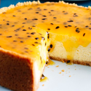 cheesecake frutto passione