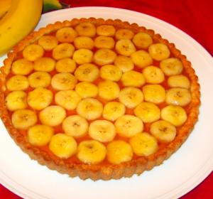 crostata banane