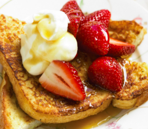 french toast fragole