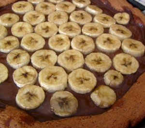 crostata banana cioccolato
