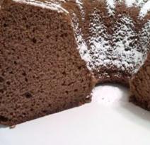 chiffon cake cioccolato