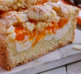 torta sbriciolata albiccocche