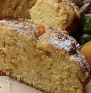 torta rustica albicocche