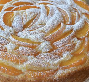 torta albicocca pinoli