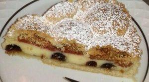 crostata amarene cannella