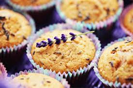 muffin lavanda