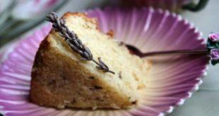 torta lavanda e vaniglia