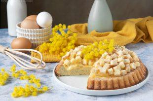 Crostata mimosa, la ricetta