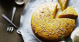 dolce alla curcuma libanese