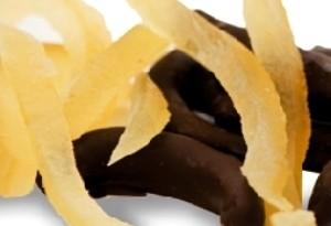 Come fare le bucce di limone ricoperte di cioccolato