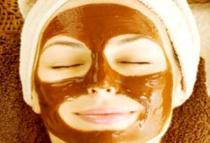 Maschera di bellezza al cacao