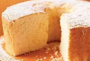 chiffon cake la ricetta