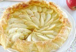mele e crema inglese
