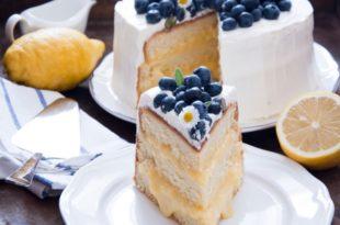 torta lavanda e limone