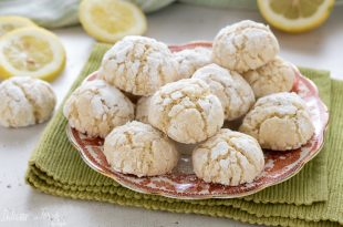 La ricetta dei biscotti al burro con scorza di limone
